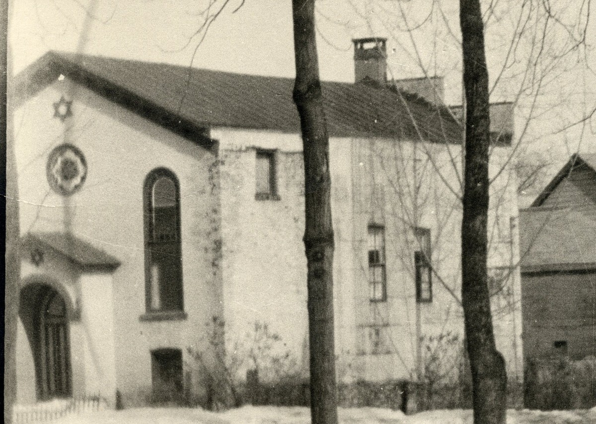 First Synagogue in Saratoga Springs