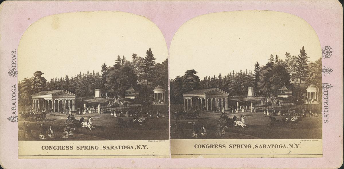 Congress Spring Lithograph