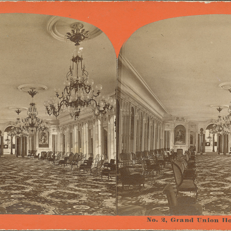 Grand Union Hotel Parlor, Early