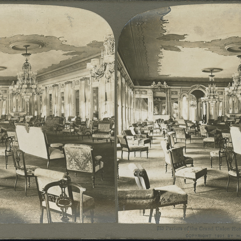 Parlors of the Grand Union Hotel