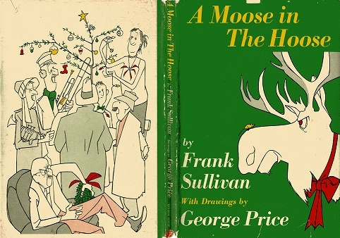 "Book cover ""A Moose in the Hoose"""