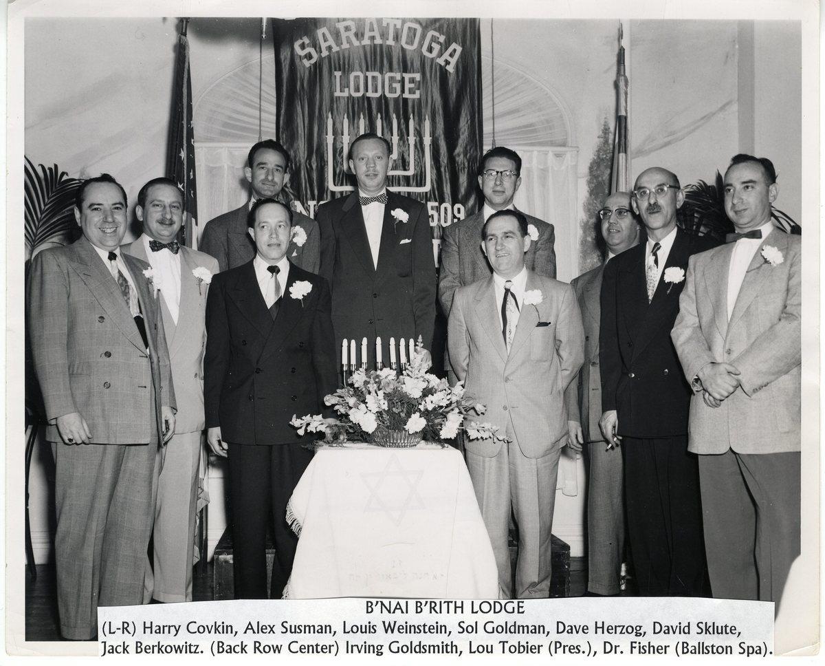Saratoga Lodge, B'Nai Brith
