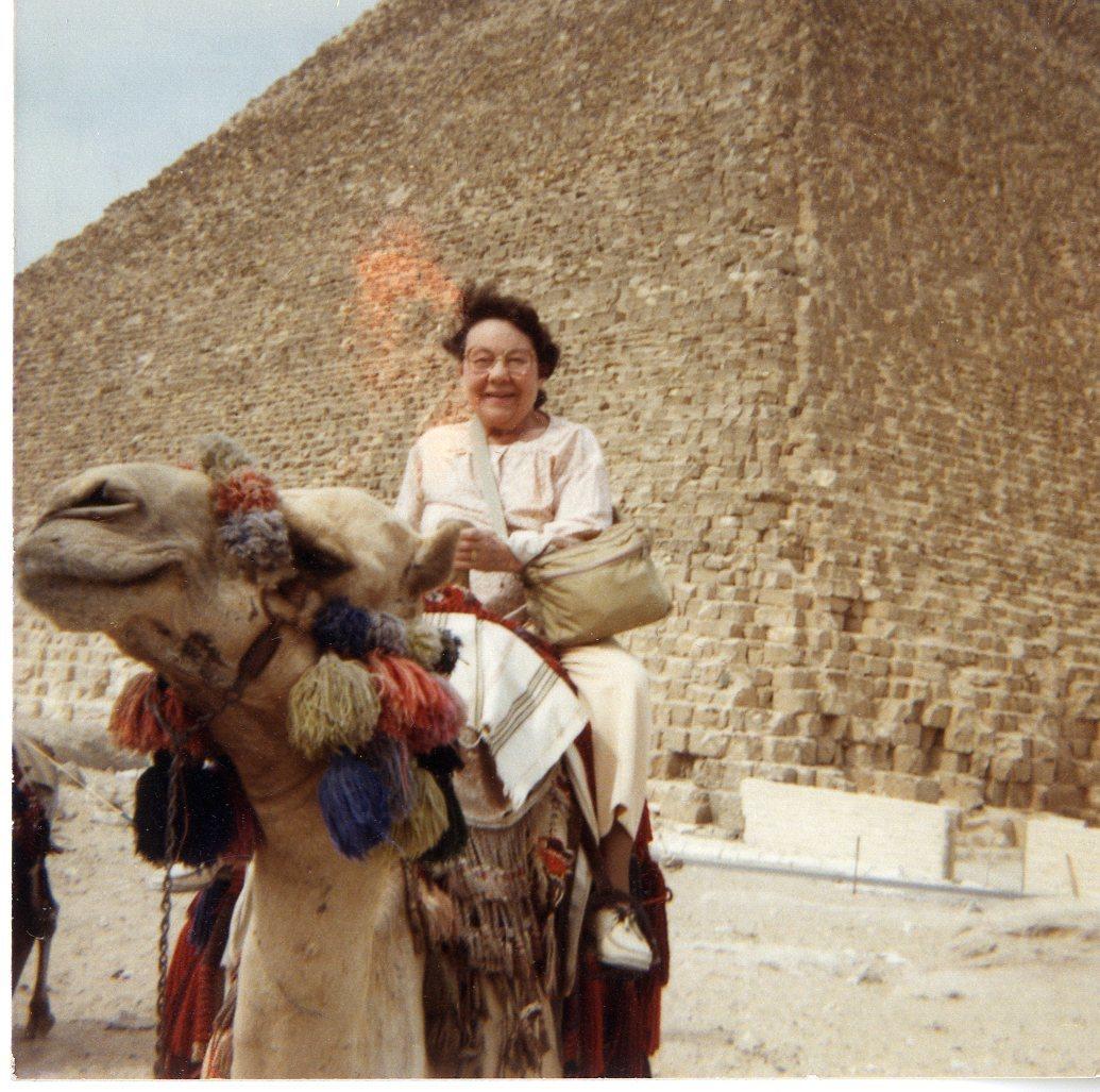 Sophie in Egypt