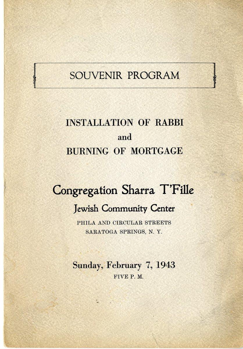 Souvenir Program, Sharra T'Fille