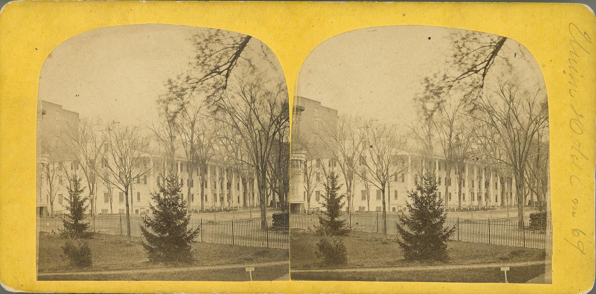 Union Hotel in 1869