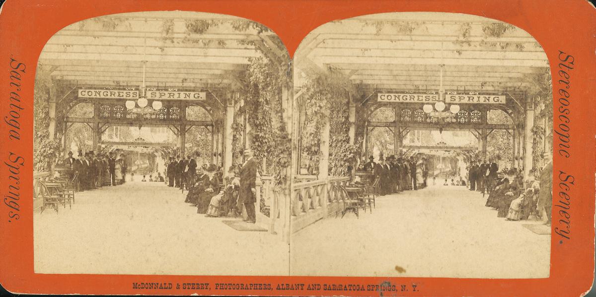 Congress Park Arcade, early