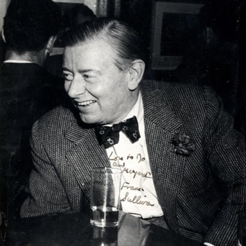 Frank Sullivan at the Worden Inn