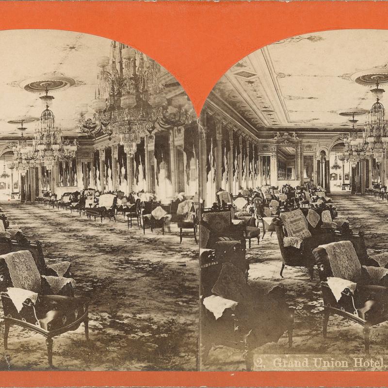 Grand Union Hotel Parlor
